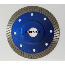 105MM Sintered hot-pressed turbo continuous saw blade