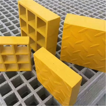 China Manufacturers for frp molded grating Corrosion resistant fiberglass tree grats frp grating export to France Factory