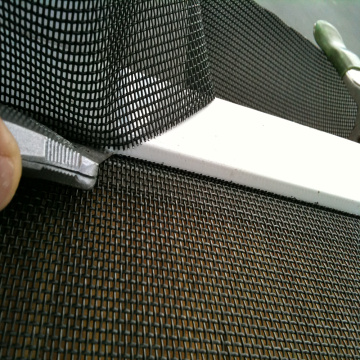 Fire Resistant Pvc Fiberglass Window Screen