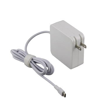 Square design 60w adapter for macbook