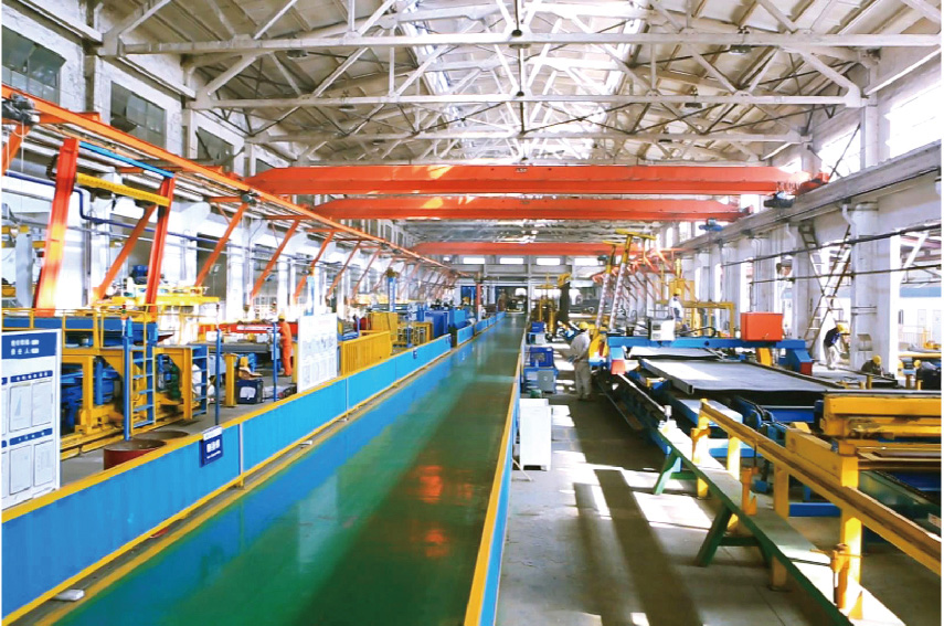 production line-1 for MT Series Tank Container Type
