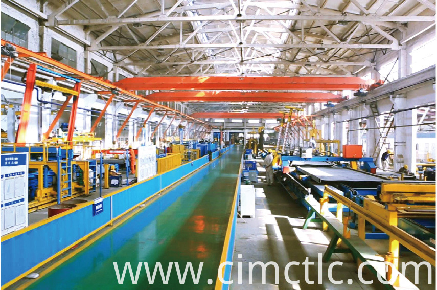 production line-1 for Low Noise Container Integrated Type