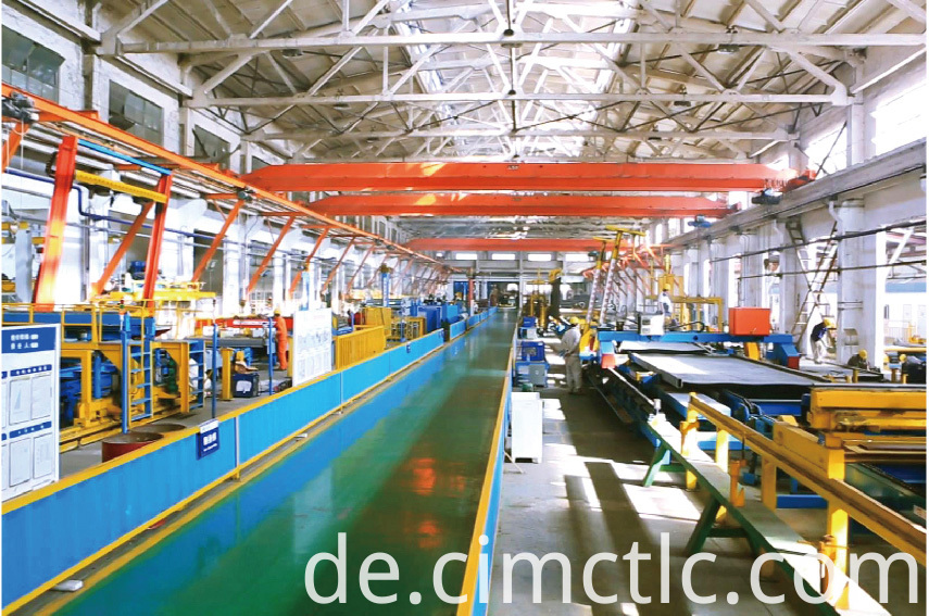 production line-1 for Data Center Container Integrated Type