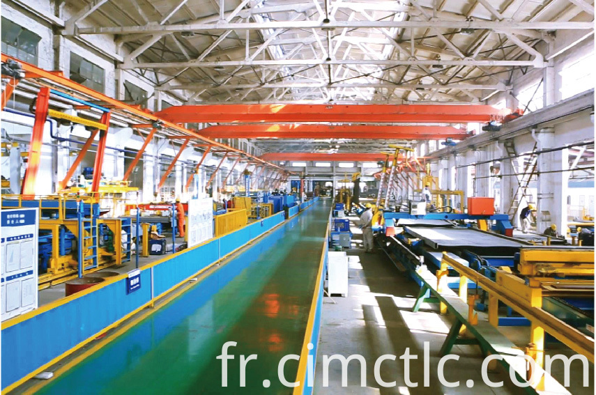 production line-1 for ISO Standard Generator Container