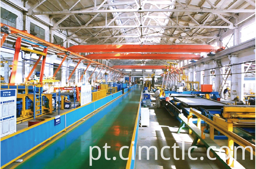 production line-1 for UL Certified Tank Container