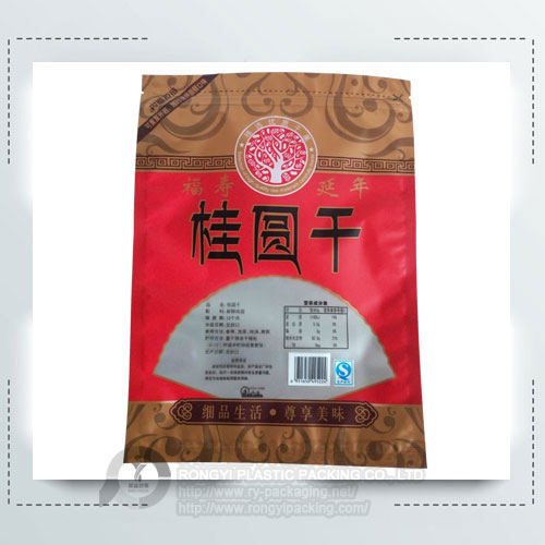 Plastic Printing Dry fruit Bag with Zipper
