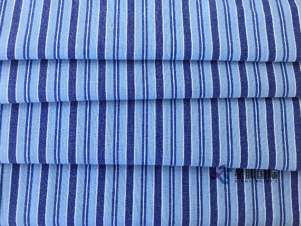 Stripe Cotton Yarn Dyed Fabric For Clothing
