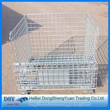 Foldable Metal Storage Cage for Pallet Racks