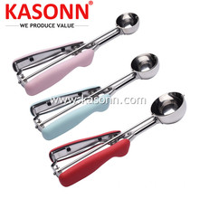 Reliable for Steel Fruit Scooper 3 Pack Cookie Scoops with Soft Good Grips export to Djibouti Exporter