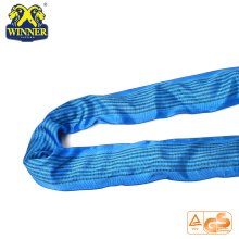 Strength 8T Lifting Lashing Endless Polyester Round Sling