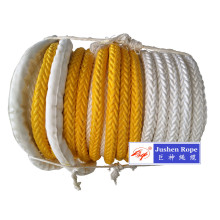 factory low price Used for White Polypropylene Rope Marine Mooring Rope PE/PP Rope export to Argentina Importers