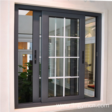 factory made colored aluminum windows for house