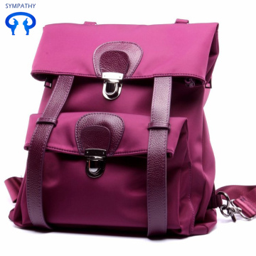 Korean version of leather shoulder bag women leisure