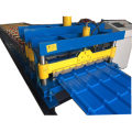 Glazed Metal Roof Sheet Cold Forming Machine