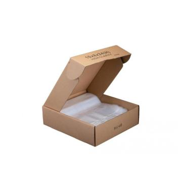 Clear Flat Poly Bag with Gusset
