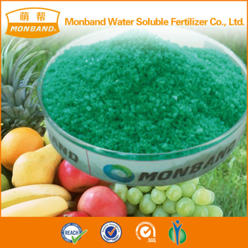 different colors NPK 15-30-15 fertilizer without Cl