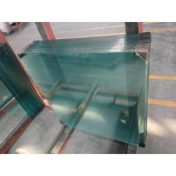 High Quality Building Flat Clear Tempered Glass Door
