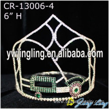 Rhinestone Car Pageant Crown For Sale