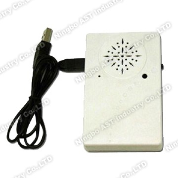 Light Sensor Voice Recorder with USB Port, Memo Box