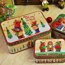 Small christmas cookie tins