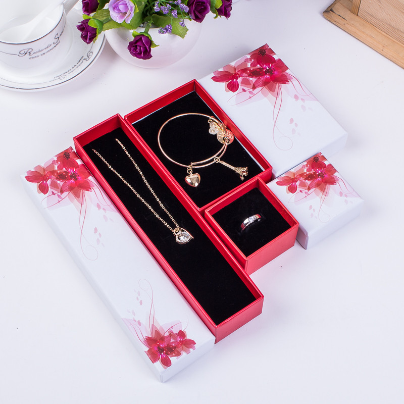 Jewelry necklace gift box