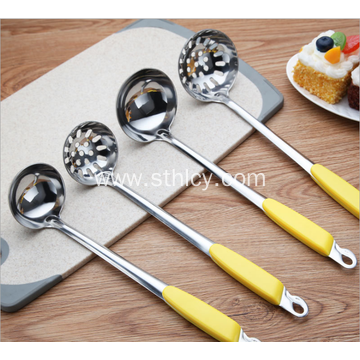 Stainless steel non magnetic Soup Ladle Slotted Spoon