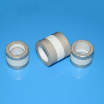 Metallized Ceramic Insulators for High Voltage Feedthru