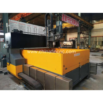 CNC Gantry Plate Drill Machine