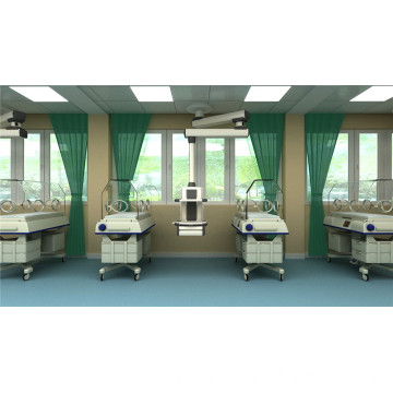 ICU room bridge with sliding move function