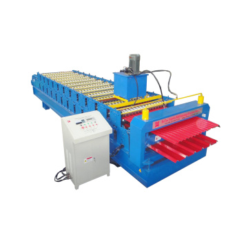 Corrugated and IBR Roof Panel Roll Forming Machine