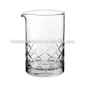 Best Quality for Mixing Glasses, Cocktail Mixing Glass, Bar Mixing Glass, Glass Carafe Manufacturer in China Hand Cut Yarai Mixing Glass 500ml supply to Papua New Guinea Manufacturers