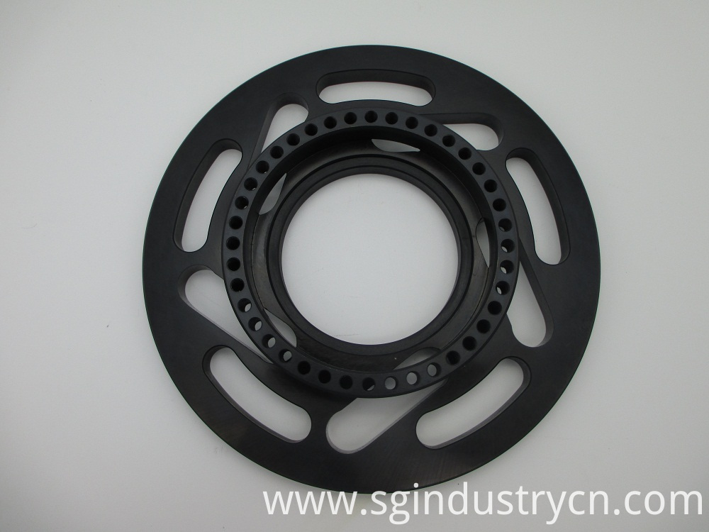 Black Anodized Cnc Aluminum Parst Shop