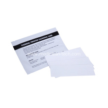 Hot selling attractive price for Pre-saturated Cleaning Cloth Thermal Printer Printhead Cleaning Cards 2x6mm supply to Monaco Wholesale