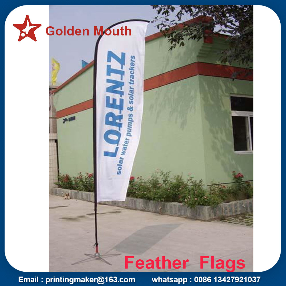 Windchaser Feather Flags Banner With Fiberglass Pole