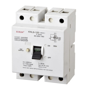 2P Low Voltage Earth Leakage Circuit Breaker RCCB