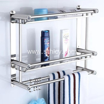 Bathroom Stainless Steel Towel Rack