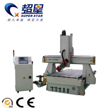 ODM for Wood Cnc Lathe Machine Auto tool changer wooden engraving machine export to Mali Manufacturers
