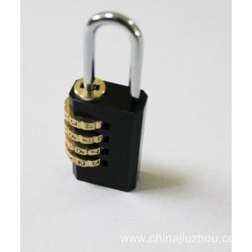 20mm Black-plated Brass Combination Padlocks
