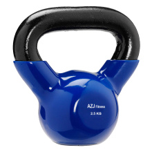 2.5KG Blue Vinyl Coated Kettlebell