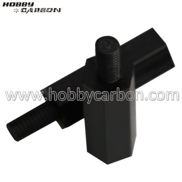 M3 threaded female to male black nylon standoffs