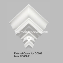 Professional Design for External Corners Crown Molding Corner Blocks export to United States Exporter