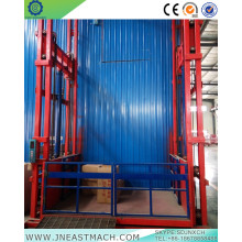 China for Warehouse Lift Platform 1.0t 14m Rail Stationary Hydraulic Cargo Lift export to St. Pierre and Miquelon Importers