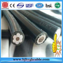 Direct Factory Supply XLPE / PVC Insulated Aluminum Quadruplex Aerial Bundle Cable