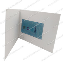 7.0 Inch Advertising Player, MP4 Greeting Cards, Video Invitation Card