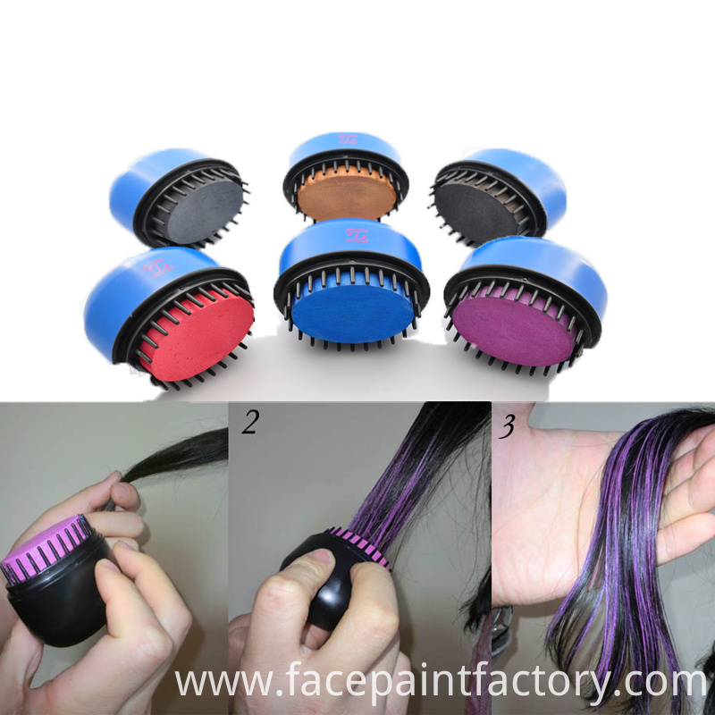 Temporary Hair Chalk Comb