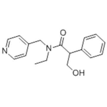 Benzeneacetamide,N-ethyl-a-(hydroxymethyl)-N-(4-pyridinylmethyl)- CAS 1508-75-4