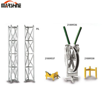 Light Aluminum Alloy Supporting Structure For Erection