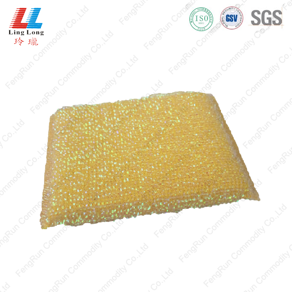 silver soft touch artificial scouring cloth
