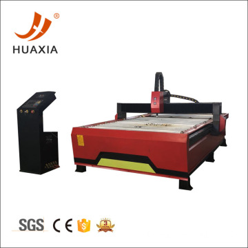 CNC plasma cutting equipment cut metal sheet