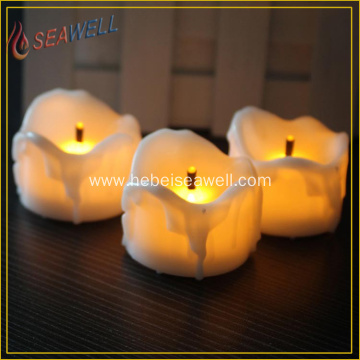 tear drop flameless led candle